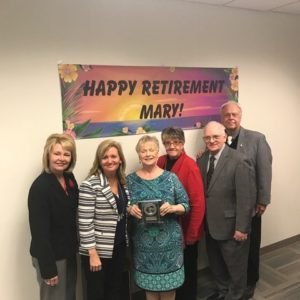 Retirement of Mary Aikens